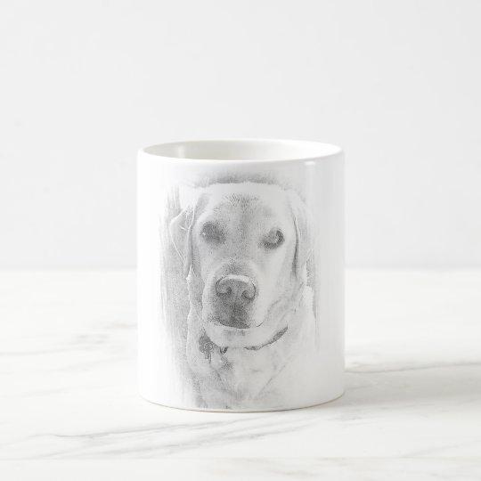 Labrador Tasse *grau