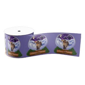 Labrador-Weihnachten Ripsband