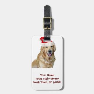 Labrador Weihnachtensankt Klaus Hundsankt Gepäckanhänger