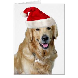 Labrador Weihnachtensankt Klaus Hundsankt Karte