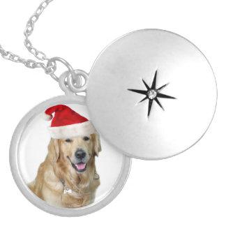 Labrador Weihnachtensankt Klaus Hundsankt Medaillon