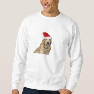 Labrador Weihnachtensankt Klaus Hundsankt Sweatshirt