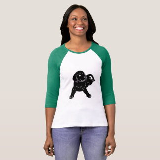 Labrador-Welpen-Liebe T-Shirt