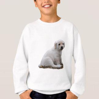 Labrador-Welpen-Sitzen Sweatshirt