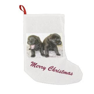 Labrador-Welpen-WeihnachtsStrumpf Kleiner Weihnachtsstrumpf
