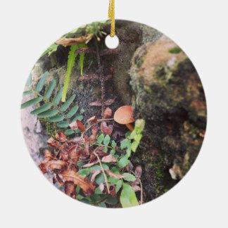Labrynth Wand Rundes Keramik Ornament