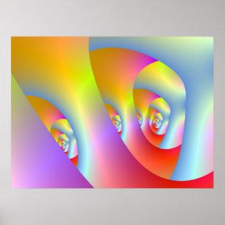 Labyrinth-Druck Poster