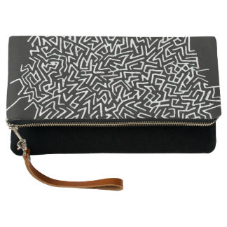 Labyrinth-Handtasche Clutch