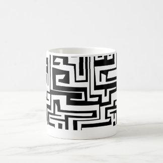 Labyrinth, Labyrinthentwurf Kaffeetasse