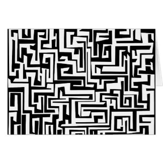Labyrinth, Labyrinthentwurf Karte