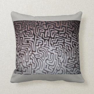 LabyrinthbaumwollWurfskissen Kissen