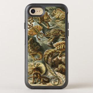 Lacertilia durch Vintage Eidechsen-Tiere Ernst OtterBox Symmetry iPhone 8/7 Hülle