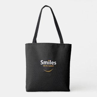 Lächeln auf der Camino Taschentasche Tasche