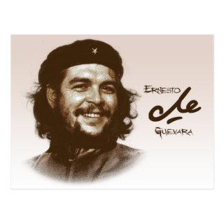 Lächeln Ernesto Che Guevara Postkarte