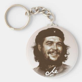 Lächeln Ernesto Che Guevara Standard Runder Schlüsselanhänger