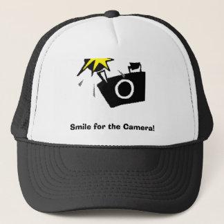 Lächeln für die Kamera! Truckerkappe