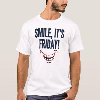 Lächeln, ist es Freitag! T-Shirt