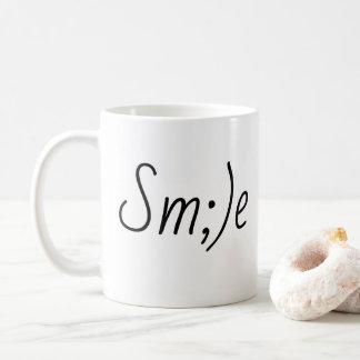 Lächeln-Kaffee-Tasse Kaffeetasse