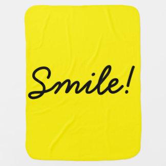 Lächeln! Kinderwagendecke