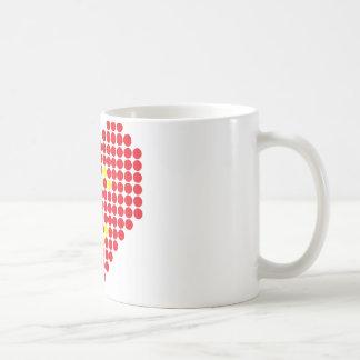Lächeln meines Herzens Kaffeetasse