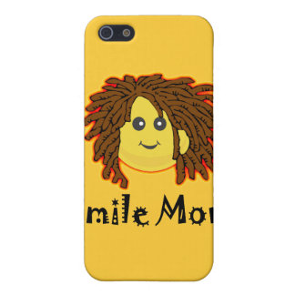 Lächeln Montag! Rasta Smiley iPhone 5 Schutzhüllen