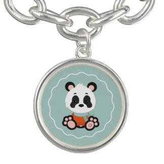 Lächeln-Panda-Charme-Armband Charm Armband
