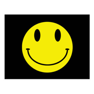 Lächeln-Postkarte