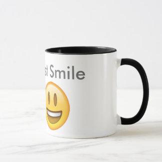 Lächeln-Tasse Tasse