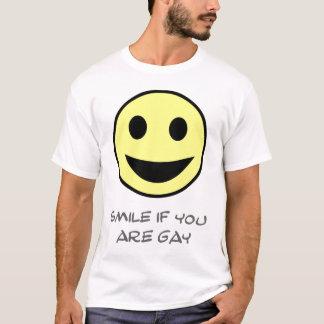 Lächeln, wenn Sie homosexuell sind T-Shirt