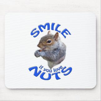 Lächeln wenn Sie Liebenüsse Mousepad