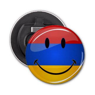 Lächelnde armenische Flagge Flaschenöffner