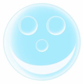 Lächelnde Blase Freistehende Fotoskulptur