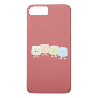 Lächelnde Eibischgruppe iPhone 8 Plus/7 Plus Hülle
