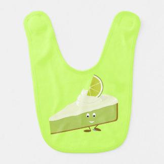 Lächelnde Limone Tortenscheibe Lätzchen