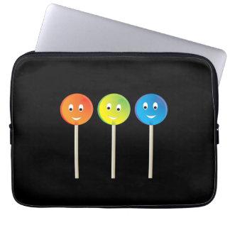 Lächelnde Lutscher Laptopschutzhülle