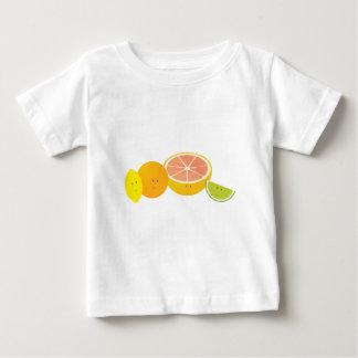 Lächelnde Zitrusfrucht Baby T-shirt