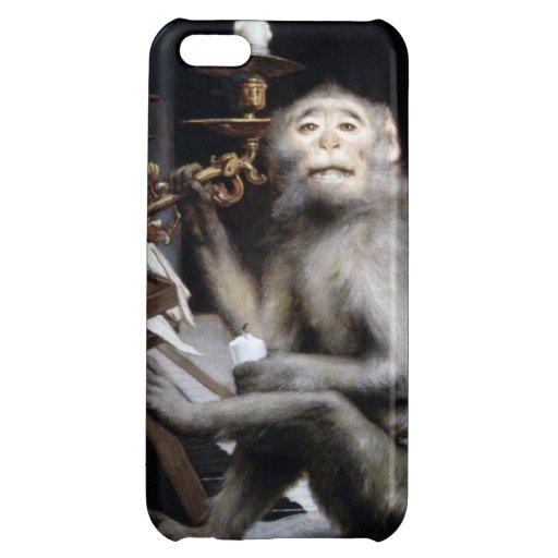 Lächelnder Affe iPhone 5C Hüllen