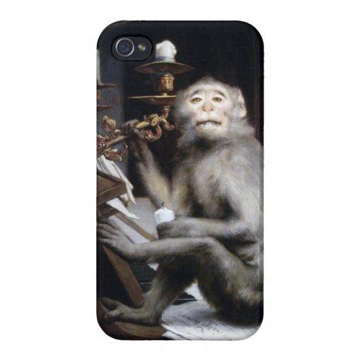 Lächelnder Affe iPhone 4 Hülle