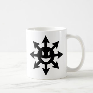 Lächelnder Chaosstern Kaffeetasse
