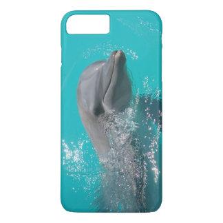 Lächelnder Delphin iPhone 8 Plus/7 Plus Hülle