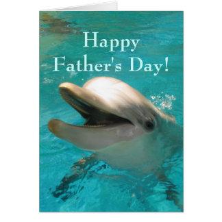 Lächelnder Delphin Karte
