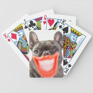 Lächelnder Hund Getty Bild-| A Bicycle Spielkarten
