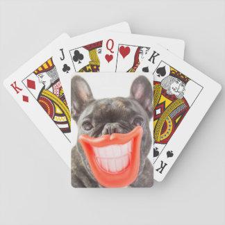 Lächelnder Hund Getty Bild-| A Spielkarten