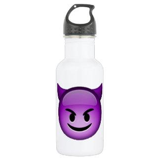 Lächelnder Kobold - Emoji Trinkflasche