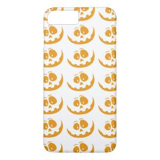 Lächelnder orange iPhone 8 plus/7 plus hülle