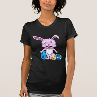Lächelnder Osterhase T-Shirt