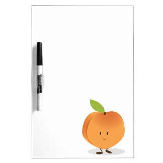 Lächelnder Pfirsich Memoboard