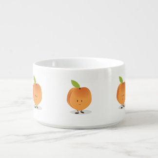 Lächelnder Pfirsich Schüssel