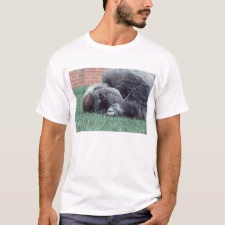 Lächelnder Silverback T-Shirt