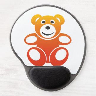 Lächelnder Sommer-Teddybär Gel Mousepad